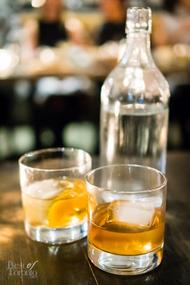 Salted caramel old fashioned, kentucky trail
