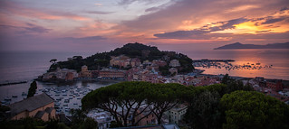 Italian Riviera Last Light