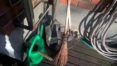WP_20151207_13_05_45_Rich (hile) Tags: autumn finland hose shovel wateringcan broom hyvink whisk syksy kastelukannu greenwateringcan letku lapio luuta