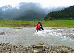 Gentleman (Py All) Tags: nepal woman mountain man water montagne river asia eau stream crossing cross femme rivire moto asie pokhara extrieur gentleman homme courant npal mortorcycle traverser