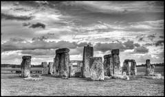 Stonehenge in B&W (jim_2wilson) Tags: bw stonehenge hdr stonecircles tonemapped dxopro sonya99 photomatixproversion505 minolta35105mmf35f45