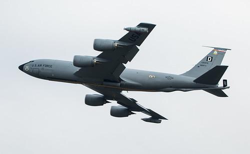63-8871 Boeing KC-135R Stratotanker 351st ARS 100th ARW USAF (Europe)