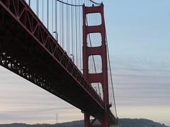 Under the Golden Gate (Adventures of KM&G-Morris) Tags: goldengatebridge sanfrancisco sausalito california cruise cruising exploreroftheseas royalcaribbean water sky blue