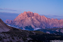 Dawn (Manuel Bu) Tags: dawn sunrise mountain dolomites dolomiti italy italia europe alps color colors beautifulcolors beautiful landscape nature cloud clouds softlight morning golden goldenhour blue bluehour orange stone rock rocks fog foggy