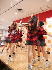 "HOT HEAT HEAT GIRLS 1st single ""JUMP"" リリースイベントミニライブ @ タワーレコード錦糸町店"
