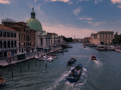 The Grand Canal (Jim Nix / Nomadic Pursuits) Tags: aurorahdr2017 europe grandcanal hdr italy jimnix lightroom lumix macphun nomadicpursuits venezia venice bridge canals trainstation travel
