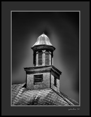 Gay School Bell Tower in UP (the Gallopping Geezer 3.8 million + views....) Tags: building structure historic old antique gay mi michigan upperpeninsula smalltown backroads rural canon 5d3 tamron 28300 geezer 2016 school education saved restored preserved notinuse historical
