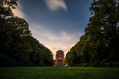 Planetarium // Hamburg (//Sebastian) Tags: planetarium hamburg germany winterhude barmbek stadtpark park green grass tree forest wood sky blue clouds longexposure sunset colorful architecture autumn fall leave big tall