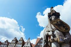 Statue of Roland (tiagoalexandresilva) Tags: germany bremen europe sonya6000 hanseatic