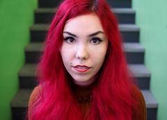 Kelsey (jeffcbowen) Tags: kelsey street stranger toronto thehumanfamily photographer redhair