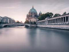 Berliner Dom | Berlin, Germany 2016 (philippdase) Tags: berlin berlincathedral berlincity berlinerdom spreeriver longexposure sunrise earlymorning nikond7100 sigma1835mm18 nd16 formatthitech