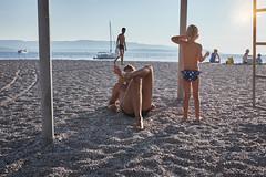 ocean sounds (Carey Moulton) Tags: croatia street decisive moment people urban life