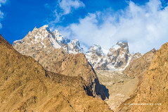 Glacier - Hunza Valley - Gilgit Baltistan - Pakistan (zeeshanbsheikh) Tags: baltistan clouds gilgit glacier gulmit mountains nikon pakistan vrii earth landscape nature road scenery valley