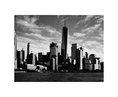 I LOVE NEW YORK XVII (2 Marvelous 4 Words) Tags: bw blackwhite shadows light nyc ny newyorkcity newyork chelseapiers eleventhavenue silhouettes skyscrapers