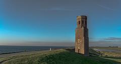 Guarding the Dutch delta in early morning light (zoomleeuwtje) Tags: zeeland holland netherlands plompetoren schouwen duiveland plompe toren