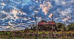IMG_5930-32Ptzl1scTBbLG2E (ultravivid imaging) Tags: ultravividimaging ultra vivid imaging ultravivid colorful canon canon5dmk2 clouds scenic rural autumn autumncolors sunsetclouds barn fields farm