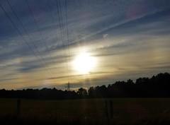 Halo Power..x (Lisa@Lethen) Tags: htt halo parhelion sun cloud cirrus weather nature cables power lines