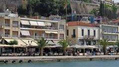 Nafplio waterfront IMG_0382 (mygreecetravelblog) Tags: greece peloponnese nafplio nauplion town village outdoor seafront waterfront harbourfront nafpliowaterfront nafpliobay sea bay