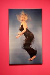 Monroe Jump (nick taz) Tags: jump marilynmonroe photo halsman caixaforum exhibition