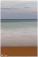 The Beach (Donna Rowley) Tags: beach calm sea sand water sky tranquil longexposure sandy ocean waves portrush whiterocks