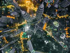 kuala lumpur, malaysia (Your.Meal) Tags: kualalumpur wilayahpersekutuankualalumpur malaysia my uemy urbanexplore cityscape dji djiphantom drone cityscapephotography city yourmeal topdown lookdown klcity kl kltower tower