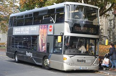 20161103 - 0124 - Reading Buses - Scania Omincity - No 1110 - Route 26 - St Mary Butts - Reading (Paul Weston (Mr Mildenhall)) Tags: reading readingbuses scaniaomnicity 1110 route26 stmarybutts
