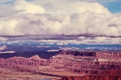 From the top of one mountain view to another (kc_hoang) Tags: lifeelevated deadhorsepoint storm worldtravel travelplanet worldwidelandscapes tamminhphotography kodakmoment