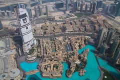 Dubai desde Burj Khalifa (]{ropotkin) Tags: dubai color burj khalifa desierto colour