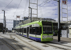 Croydon Tramlink 2551 22.08.2016 (CNThings) Tags: 2551 tramlink croydontramlink tram bombardier flexityswift eastcroydon station croydon surrey london transport tfl