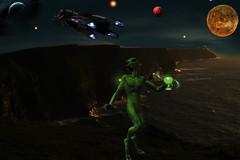 alien (Lala50) Tags: alien spaceship sureal