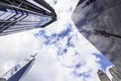Downtown (MadMartigen) Tags: city manhattan newyork newyorkcity nyc freedomtower