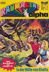 Raumagent Alpha 09 (micky the pixel) Tags: comics comic heft sciencefiction scifi sf basteiverlag editionsdevaillant raumagentalpha planet dschungel jungle schildkrte turtle