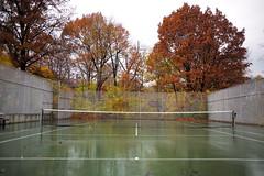 L1000419_p (thebiblioholic) Tags: setonpark riverdale bronx tenniscourt wet fallcolors