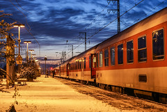 Nighttrain during sunset (TGr_79) Tags: db nighttrain emmerich train cloud sunset