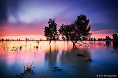 Lake Pamamaroo (torbenzeh) Tags: sunset lake night landscape australia nsw outback menindeelakes pamamaroo