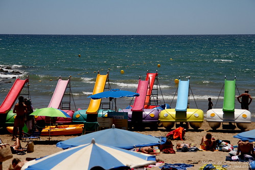 Multicoloured Beach Slides