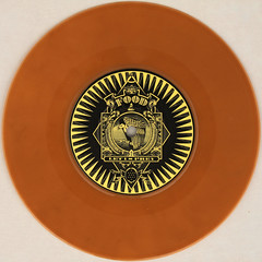 Sensitize - Falling Through (Leo Reynolds) Tags: brown colour vinyl single record squaredcircle disc platter 45rpm 7inch xleol30x sqset120 xxx2015xxx