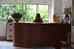 24 hours reception at Ruenthip Pattaya เรือนทิพย์พัทยา บริการ24ชั่วโมง