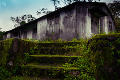 Nature is a haunted house--but Art--is a house that tries to be haunted (Vj Clickzz) Tags: old india house mountains building green nature mystery architecture vintage landscape nikon village grunge ghost rustic atmosphere haunted hut urbannature left hilltop thrill grungy allalone ontop naturallighting valparai greenary thrilling nikond5200 vjclickz