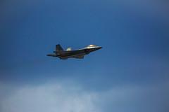 F-22 Raptor (pidalaphoto) Tags: newyork jets airplanes orangecounty hudsonvalley newyorkairshow newwindsorny stewartinternationalairport