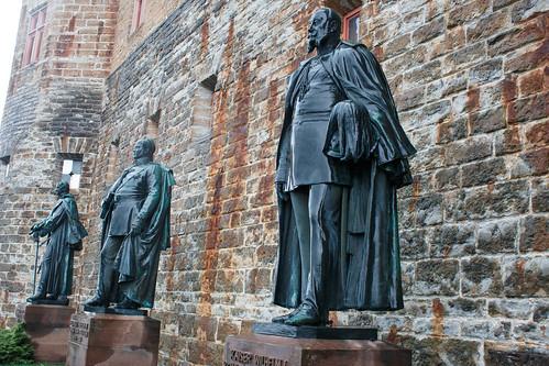 Statue de Guillaume Ier (1871-1888) au château de Hohenzollern