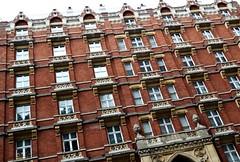 (Gruszka!) Tags: windows red urban building window architecture buildings diagonal urbanarchitecture