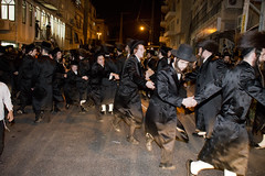 Dancing in the streets (Dan_lazar) Tags: holiday religious israel dance brak orthodox  sukot bnei hasidim   raby         admor