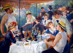 Renoir, Luncheon of the Boating Party