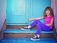 IK2A7085 copyfbsmall (azphotomom37) Tags: door blue arizona girl smile canon happy globe child daughter 2470mm kgibsonphotography