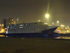 Belfast Docks, 11th of October 2015 (nathanlawrence785) Tags: docks scotland vessel belfast catamaran po quarter express titanic withdrawn troon larne seacat incat