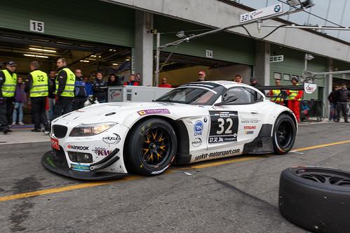 BMW Z4 GT3 Pit