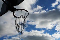 Sky net (quinndenko (f11 2015)) Tags: net basketball clouds