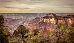 The View (http://fineartamerica.com/profiles/robert-bales.ht) Tags: park travel vacation arizona sky cliff usa sun mountain mountains southwest west tourism nature beautiful yellow rock stone america sunrise river landscape photo colorado desert natural outdoor hiking earth grandcanyon united north scenic rocky dry grand places landmark tourist canyon erosion formation exotic national backpacking american western mystical gorge states projects geology inspirational rim northrim haybales rockformation geological eroding coconinoplateau robertbales