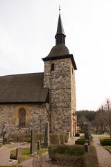 Botkyrka kyrka (Yvonne L Sweden) Tags: church sweden stockholm churchtower torn kyrka botkyrka kyrktorn stenbyggnad botkyrkakyrka